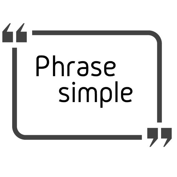 phrase simple