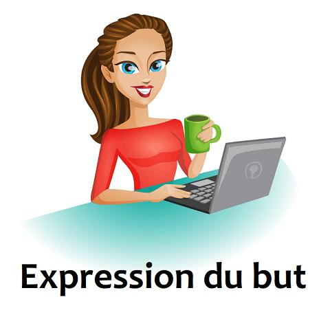Expression du but