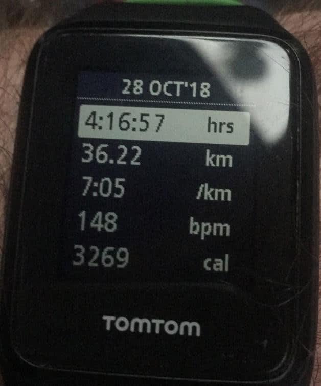 Marathon metrics