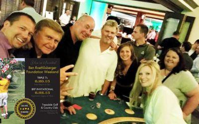 Triple 7s Event | Ben Roethlisberger Foundation Weekend