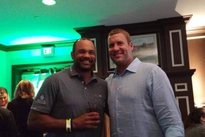 Ben is such a gracious host at the 'Triple 7s Event for The Ben Rothlisberger Foundation'