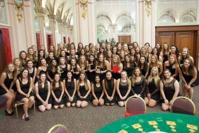 The lovely ladies at Pitt University know how to host a Casino Royale Party!