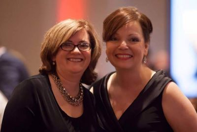 Eleanor B. Reigel, Executive Director Ronald McDonald House Charities of Pittsburgh with Dawn Takacs, President Elite Casino Events