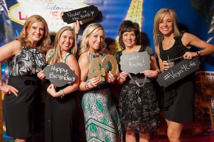 Host Your Casino Birthday Party Right On The Las Vegas Strip - With Our Vegas Theme Photo Booths!