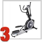 Exerpeutic 21 in. Pro Stride Elliptical Trainer