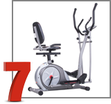 Body Rider 3 in 1 Trio Elliptical Trainer BRT3980
