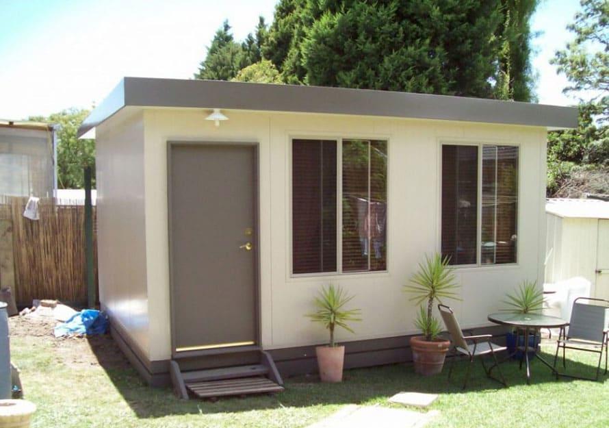 6.0m x 3.6m Single Room backyard bungalow