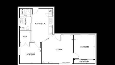 sample custom granny flat plan