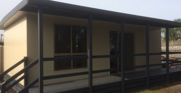 Two Bedroom Sleepout with Ensuite and verandah