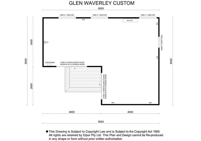 Glen Waverley custom granny flat map