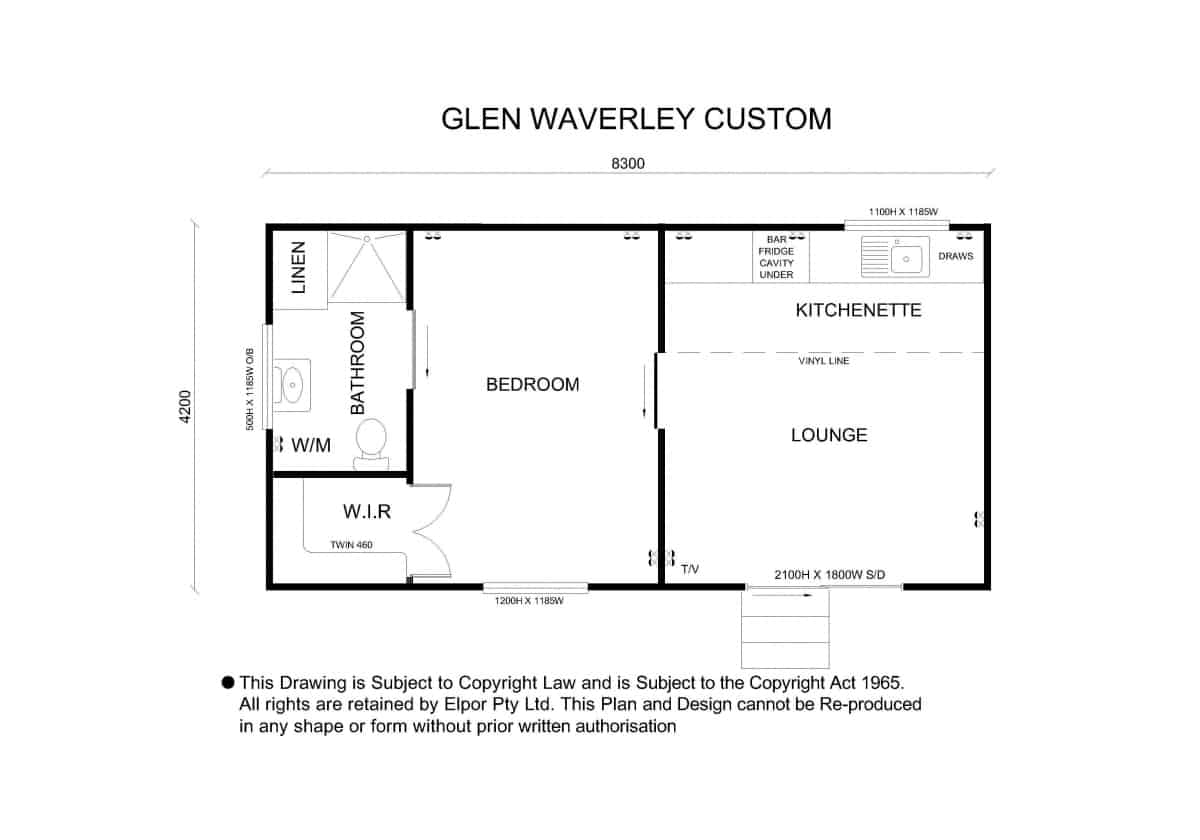Glen Waverly custom granny flat map second image