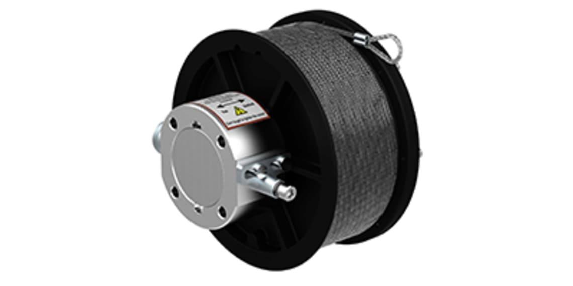 Heavy duty linelengdegiver: Robust lengdesensor fra FSG