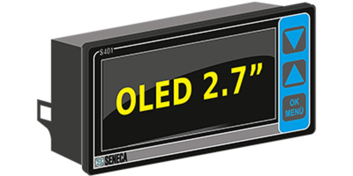 Seneca S401 Modbus Display