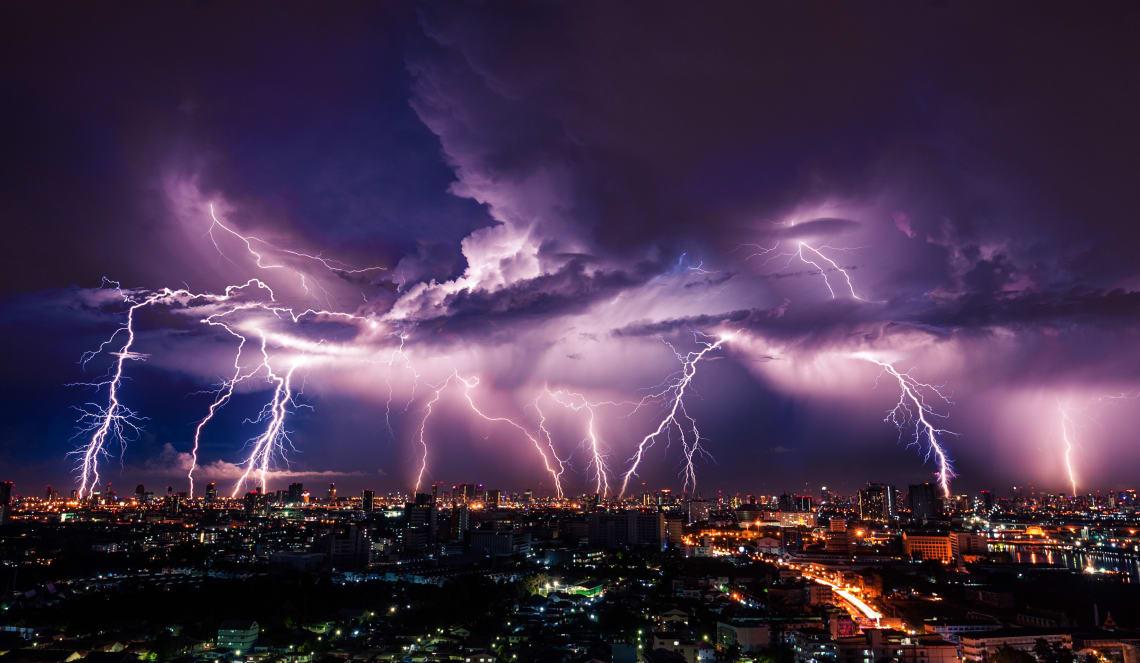 Når trenger du beskyttelse mot lynnedslag?
