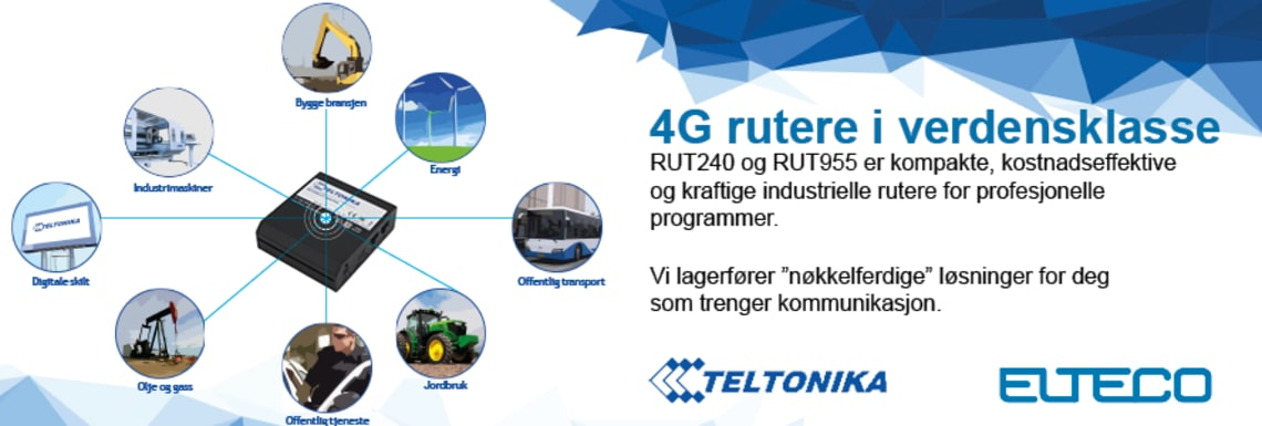 4G rutere av topp kvalitet