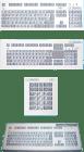 KB 153.2.1. Tastatur for Ex-PC. m/integrert Touch Pad