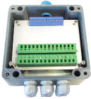 VI 156.6.0.1. 24VDC nettsp. 15VDC/50mA utg. 260x160x90mm