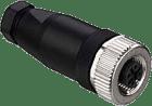 KD 095-4A M12 4-pin Plugg A