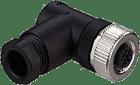 KD 095-4 M12 4-pin hun 90° plugg A
