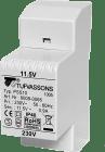 Tufvassons PSS 10VA 1-fas 230V/24V spenningstrafo