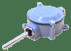 Uteføler Pt100. ø8x75mm. 3-leder. -50°...+50°C. med T120 transmitter  4..20mA output
