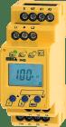 IR420-D4-2. A-Isometer Un: AC 42..460Hz 0..300V. Tilkobling via fjærklemmer