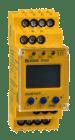 IR420-D6-2. A-Isometer Un: AC 42..460 Hz 0..300V. Tilkobling via fjærklemmer