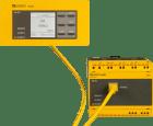 iso685-S-B+FP200. A-Isometer. m/separat display. Modbus TCP. web server. BCOM