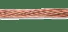 Blank kobberline 8mm/50mm2. Lengde: 50m ring/ 100m ring