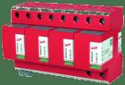 DEHNventil 100kA 264V 4P+PE kombinert lyn- og overspenningsvern TN-S