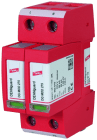 DEHNguard 40kA 275V 2P overspenningsvern for 1-fas TN