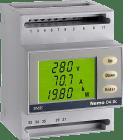NEMOD4-DC. *Aux:230VAC. 60-100-150mV/shunt evt.0-10A. 10-300VDC. IMP+RS485