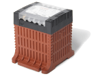 Polylux QC 1250VA 1-fas styrestrømtrafo