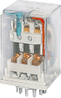R15-2012-23-5230-WTV  230VAC m/mek.ind.. test-/sperreknapp. varistor