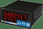 Digitalt instrument-totalisator med universal analog inng. 96x48mm