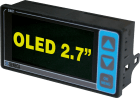 OLED display med Modbus interface