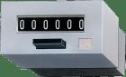 B16.01. 230VAC 6siffer m/reset Sort