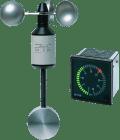 Anemometer. AN-60-P/01. m/DC generator. pendel. Utg. 0-3.4V. 0-40m/s.faste skovler