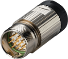 K-8.0000.5041.0000 M23x1 plugg 17-pin med plug cw