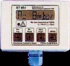 BT851.0 Betjeningstablå for innfelling i tavle