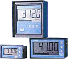 D122.A.3.2.BM. 4 1/2-siffer. 30mm sifferh. 72x144. tavlefr. Mont. 2 digitale utg. zener