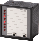 M4600.0050Indikatorpanel.8kanaler.24VDC/AC.m/neg.ref.