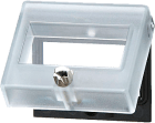 Frontdeksel for teller serie- H. -B og HB i størrelsen 24 x 48mm