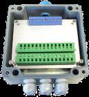 VI 156.0.1.0. 230VAC nettsp. TTY/RS232 interf.15VDC/50mA utg. 160x160x90mm