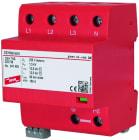 DEHNshield 50kA 255V 3P+N kombinert lyn- og overspenningsvern for TN-S