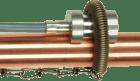 Pt100 Klasse B. Rørføler. 2 leder. 2m PVC kabel. IP65. -10...+105°C. inklusiv holdefjær