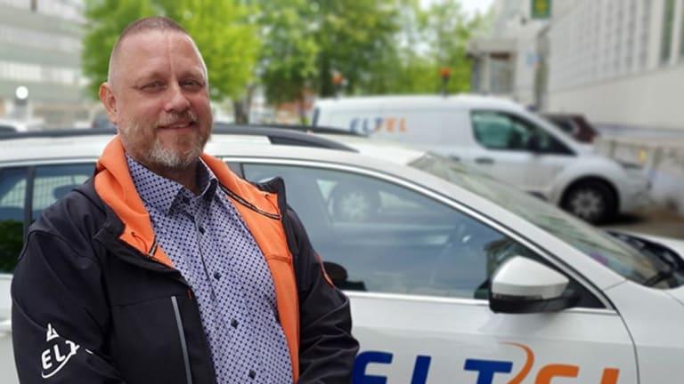 Möt Jan Nørmark, förste projektledare för Eltels team för installation av smarta mätare