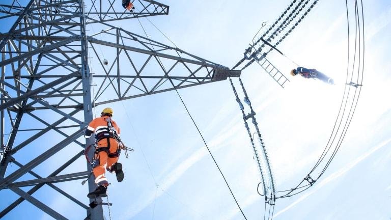 Innowacje w energetyce - prace na wysokości - Eltel Networks