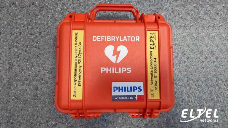 Eltel Networks ma nowy defibrylator AED