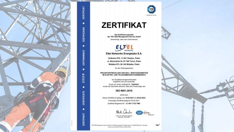 Zertifikat ISO 9001 (DE)